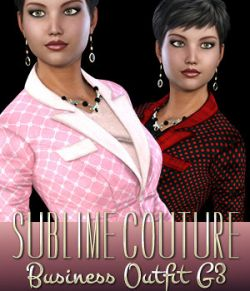 Sublime Couture for Business Outfit Genesis 3 Female(s)