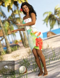 Tropical Style Outfit for Genesis 3 Female(s)