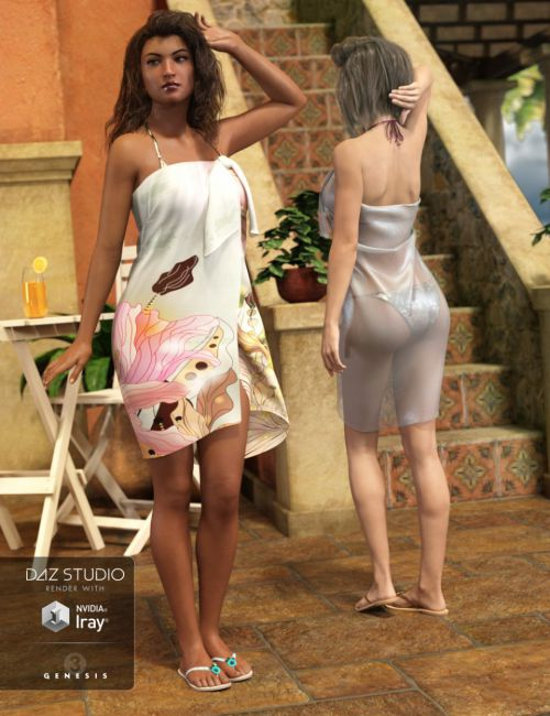 Tropical Style Outfit Textures