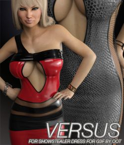 VERSUS - Showstealer Dress for Genesis 3 Female(s)