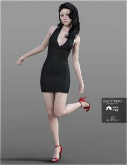 H&C Club Dress B for Genesis 3 Female(s)