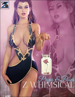 Z Whimsical- Props & Poses