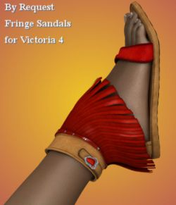 By Request : Fringe Sandals for V4