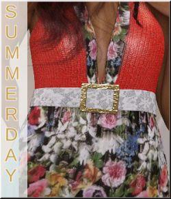 Summerday - for Summer Halter Dress by Sveva