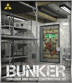 Bunker: S2 - Corridor and Room Construction Set