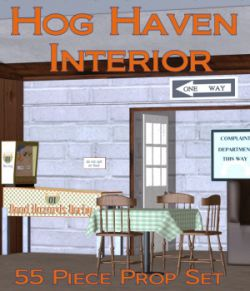 Hog Haven INTERIOR