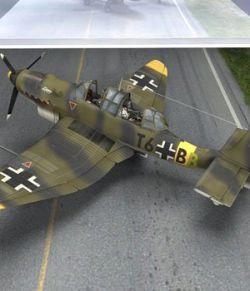 Ju-87 Stuka (for Poser)