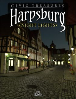 Harpsburg Night Lights for Iray