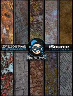 Metal Collection- Vol1 (PBR Textures)
