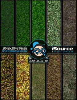 Grass Collection- Vol1 PBR Textures