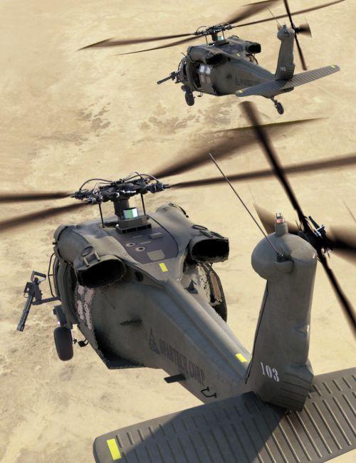 DarkHawk Helicopter