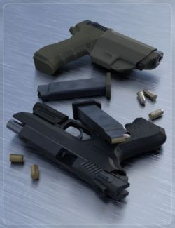 Tactical Gun for Genesis 3 Male(s)