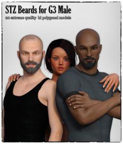 STZ Beards for G3 Male