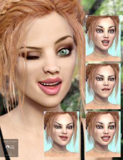 Whispers Expressions for Izabella and Genesis 3 Female(s)