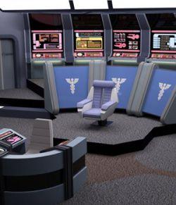 Starship Bridge 12 (for DAZ Studio)