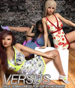 VERSUS- Fads Tennis Dress for Genesis 3