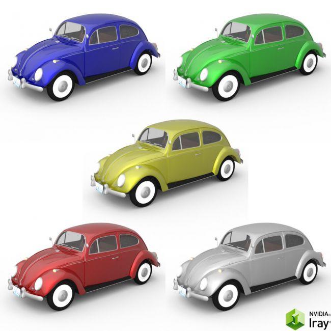 Volkswagen Beetle (for DAZ Studio)