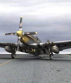 P-51D Mustang (for Poser)