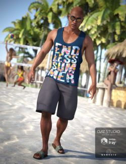 Beach Vibes Outfit for Genesis 3 Male(s)