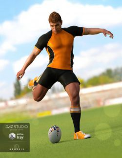 Rugby Uniform for Genesis 3 Male(s)