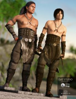 Island Warrior Outfit Textures