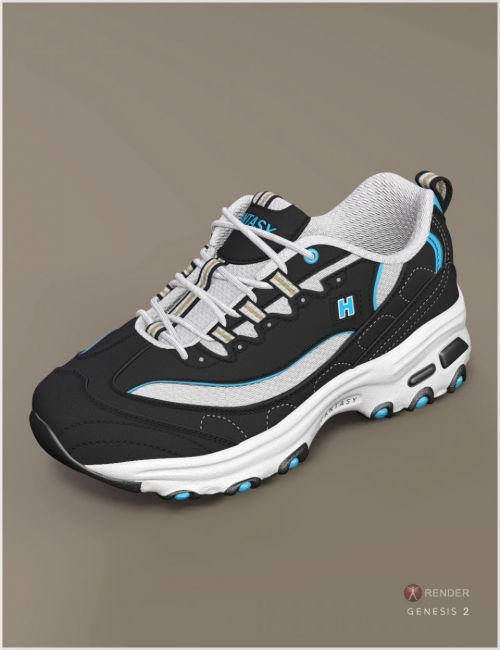 Running Shoes 3 for Genesis 2 & 3