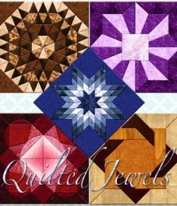 Harvest Moons Quilted Jewels