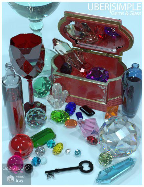 UberSimple - Gems and Glass Merchant Resource