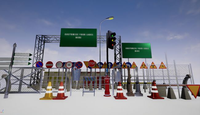 City Environment for Unreal Engine | Architecture for Poser and Daz
