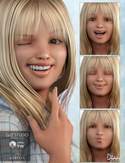 Expressions for Haley and Genesis 3 Female