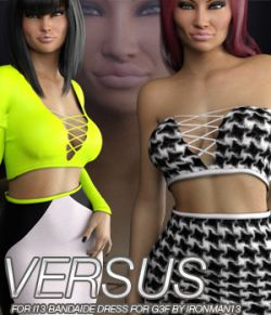VERSUS- i13 BANDAIDE DRESS for the Genesis 3 Female(s)