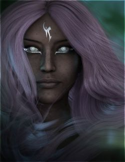 Fantasy Races: Aunrae the Dark Elf