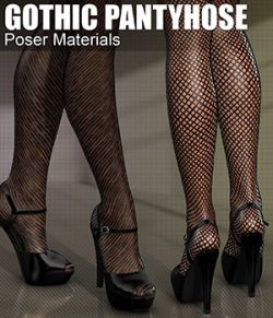 Poser- Gothic Pantyhose