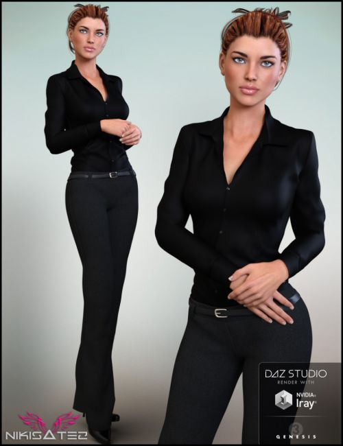 9 To 5 Outfit for Genesis 3 Female(s)