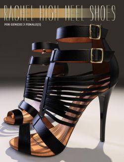 Rachel High Heels for Genesis 3 Female(s)