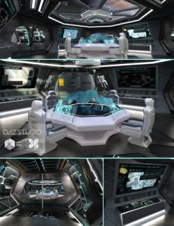 Spaceship Command Center