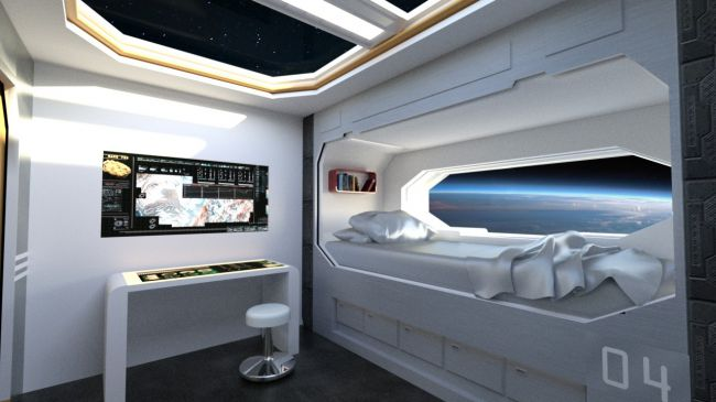 Spaceship Crew Room 3d Models For Poser And Daz Studio