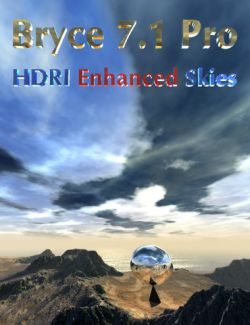 Bryce 7.1 Pro- HDRI Enhanced Skies