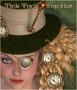 Tick Tock- Top Hat