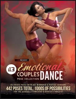 i13 Emotional Dance for the Genesis 3 Female(s) and Genesis 3 Male(s)