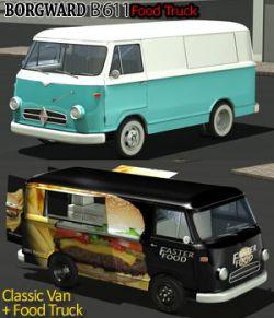 Borgward B 611 Food Truck