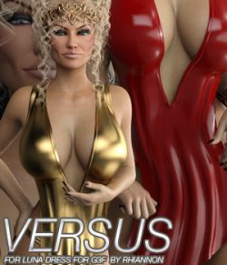 VERSUS- Luna Dress for Genesis 3 Female