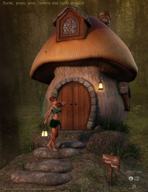 DM's Fairy Sweet Home