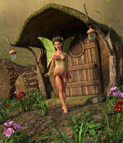 DM's Fairy Trunk House