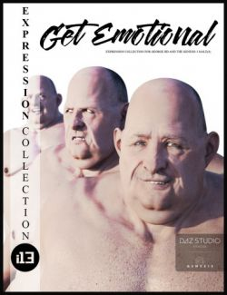 i13 Get Emotional Expressions for the Genesis 3 Male(s)