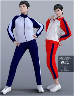 H&C School Sportswear B for Genesis 3 Female(s)
