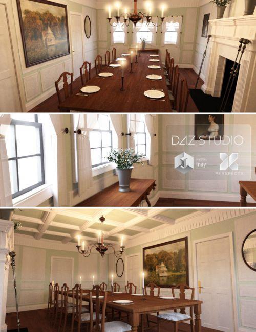 Regency Dining Set