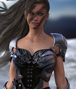 Liz the Warrior for Genesis 3 Female