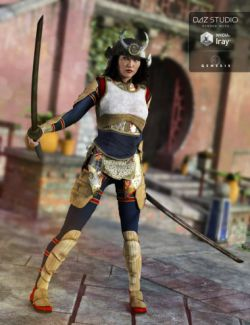 Nitsu Hinshi Samurai Armor for Genesis 3 Female(s)