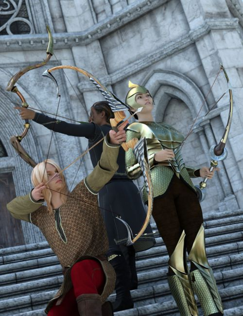 Fantasy Bows and Arrows